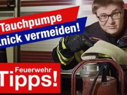 #1 Tauchpumpe - Knick im Schlauch vermeiden!